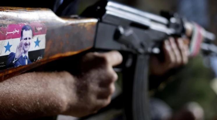 """صورة رصاص """"الزعران"""" السُكارَى بمناطق النظام يوقع قتلى"""
