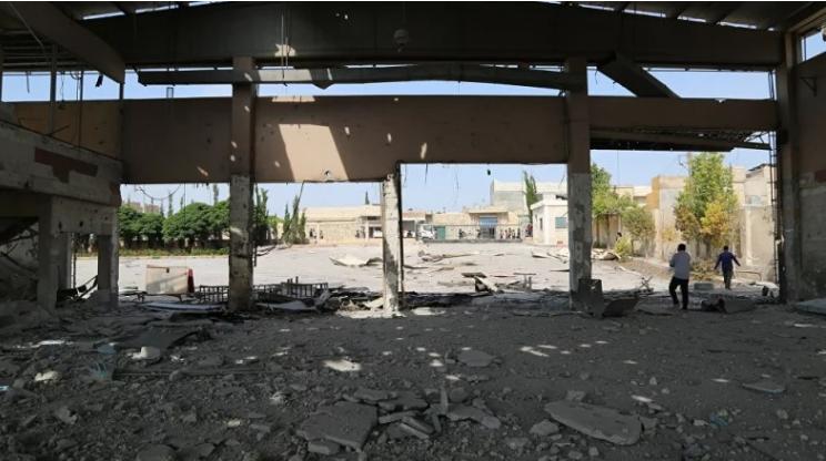 صورة ريف حلب..صواريخ أمريكية مجنحة..من استهدفت؟