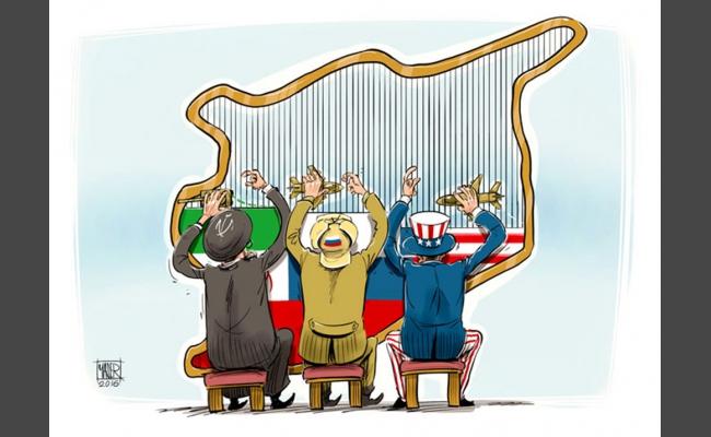 صورة سوريا تسير ببطء نحو التقسيم