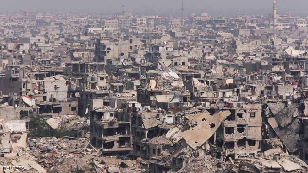 صورة هكذا يمنع الأسد اللاجئين من العودة