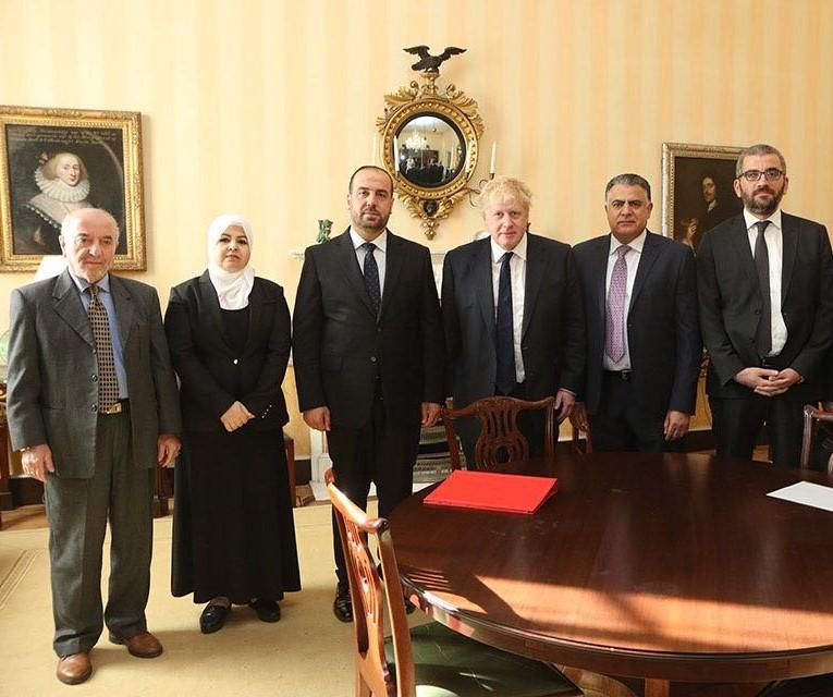 صورة الحريري يقدم إحاطة علنية لمجلس العموم البريطاني