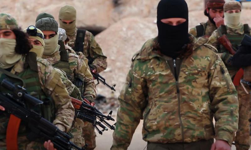 صورة تحرير الشام تداهم اجتماعا لتنظيم الدولة