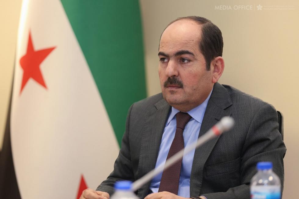 صورة رئيس الائتلاف: الأسد جعل سوريا ساحة لتصفية الحسابات
