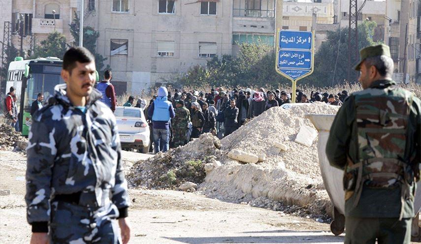 صورة حمص..النظام يمنع المتطوعين الجدد من دخول المدينة