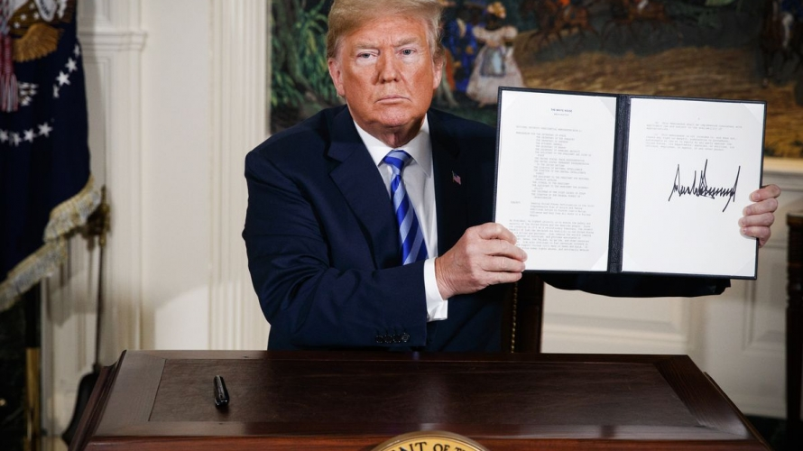 صورة هل فسخت أمريكا شراكتها مع إيران؟