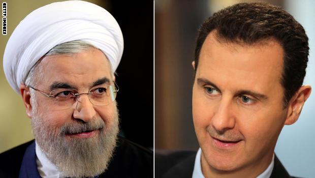 صورة الأسد يتحدى بوتين حول الوجود الإيراني بسوريا