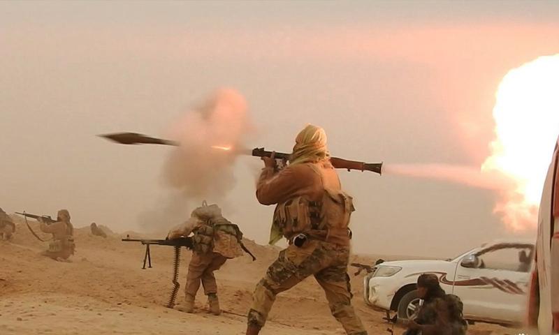 صورة دير الزور..التنظيم يعزز مواقعه العسكرية