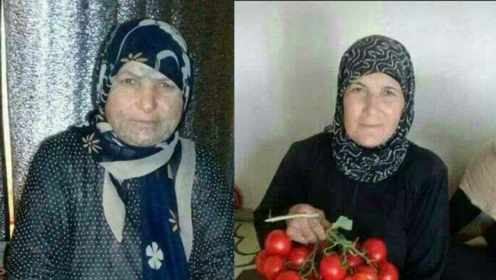 صورة شبيحة الأسد يحرقون سيدتين في حماة