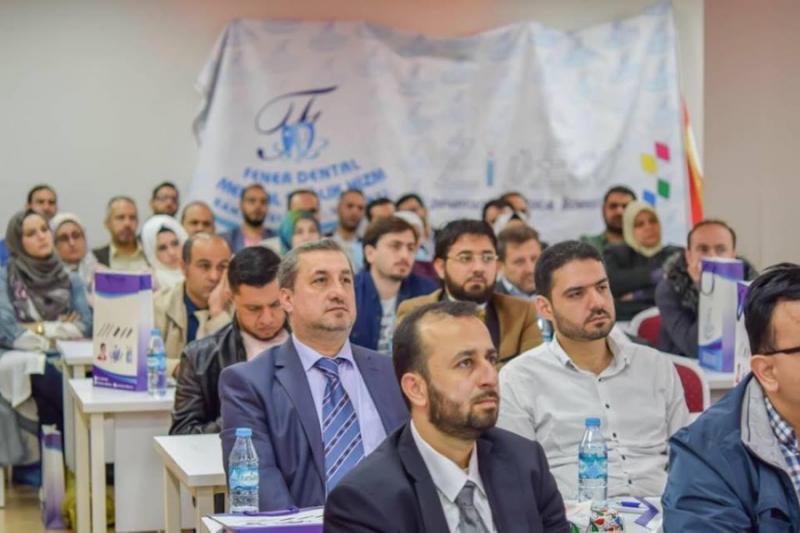 صورة جمعية لأطباء الأسنان السوريين في اسطنبول