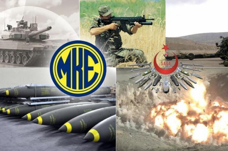 """صورة الدفاع التركي: 97% من ذخائر """"غصن الزيتون"""" محلية الصنع"""