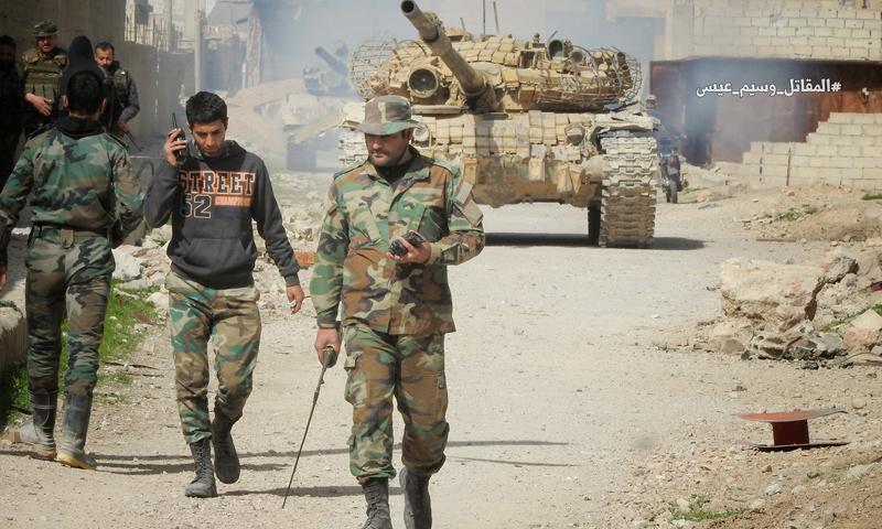 صورة بعد 7سنوات..النظام يعلن سيطرته على دمشق وريفها