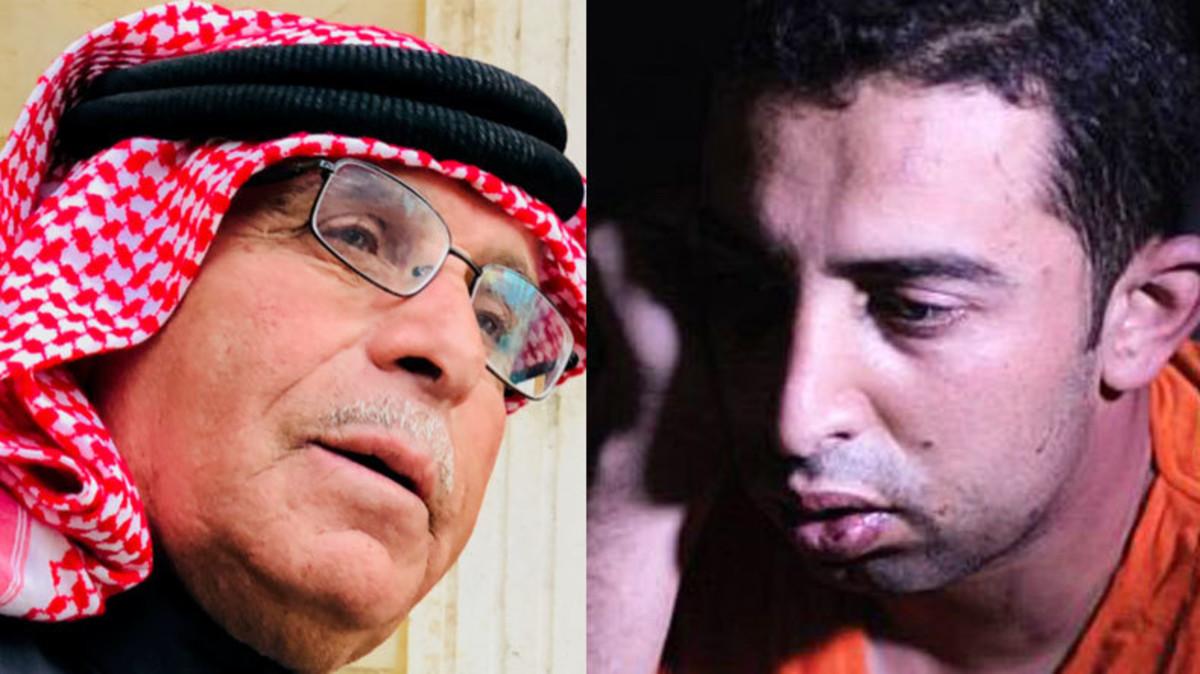 صورة والد الكساسبة: أتمنى لقاتل ابني أشد من الحرق