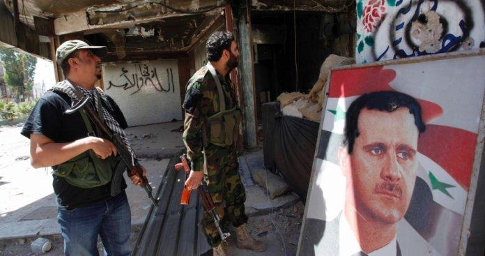 صورة مخابرات الأسد بحماة تلاحق رافضي التجنيد
