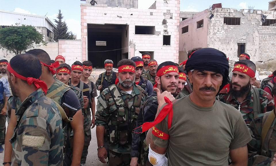 صورة ميليشيا فلسطينية تجند دمشقيين لقتال داعش
