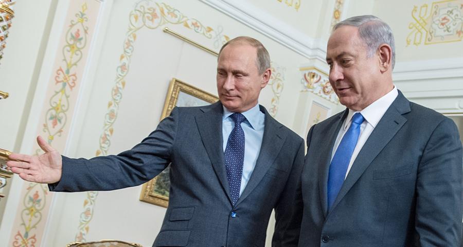 صورة تفاهم إسرائيلي روسي حول إيران..هذه محاوره