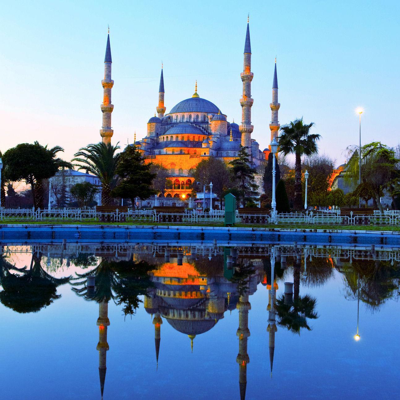 """صورة مسجد تركي يقبل الزكاة بعملة """"بيتكوين"""""""