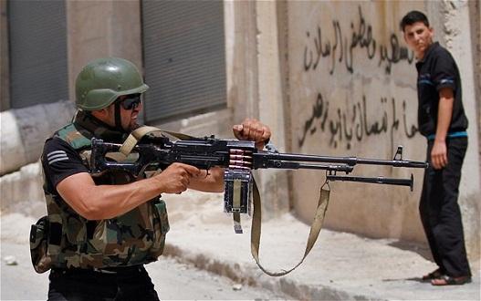 """صورة قتيل لـ""""داعش"""" يقتل 3 من الحرس الجمهوري"""