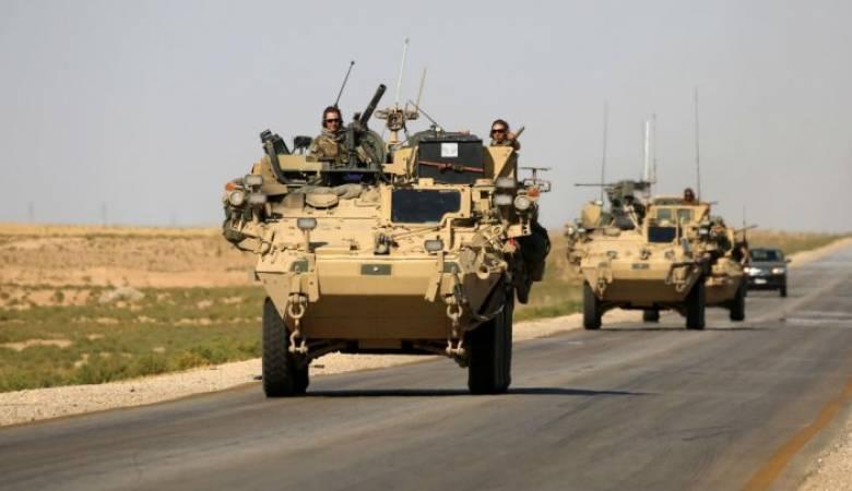 صورة قاعدة أمريكية عسكرية جديدة في سوريا