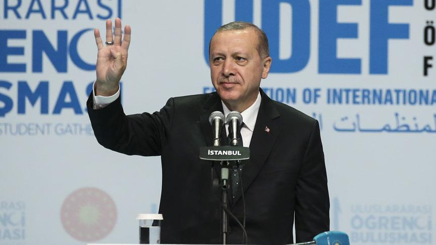 صورة أردوغان يمنح الطلاب الأجانب مزايا كبيرة
