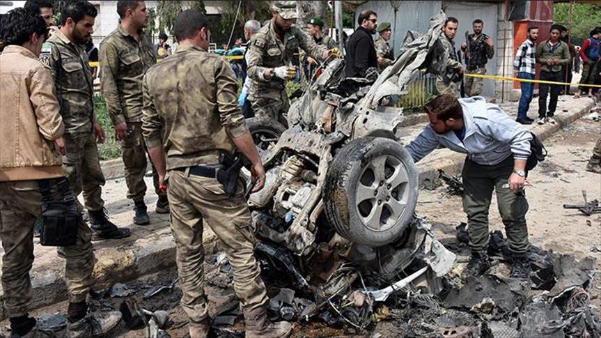 صورة مففخة في إدلب توقع قتلى وجرحى