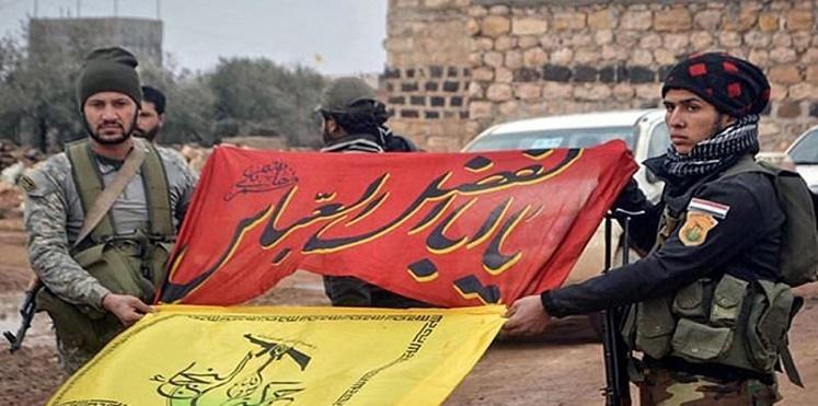 صورة وعيد إسرائيلي لحزب الله العراقي بسوريا