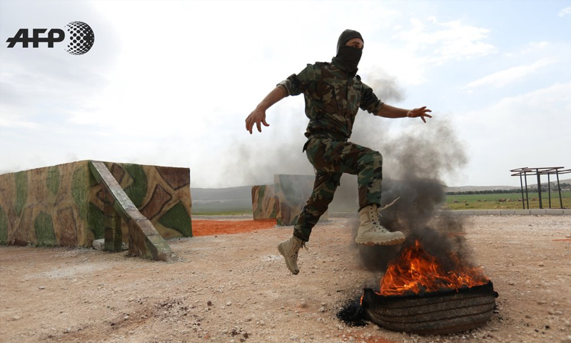 صورة ريف حماة..اغتيال 5 عناصر من فيلق الشام