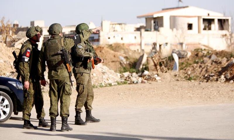 صورة روسيا تدخل خمس مناطق وسط سوريا
