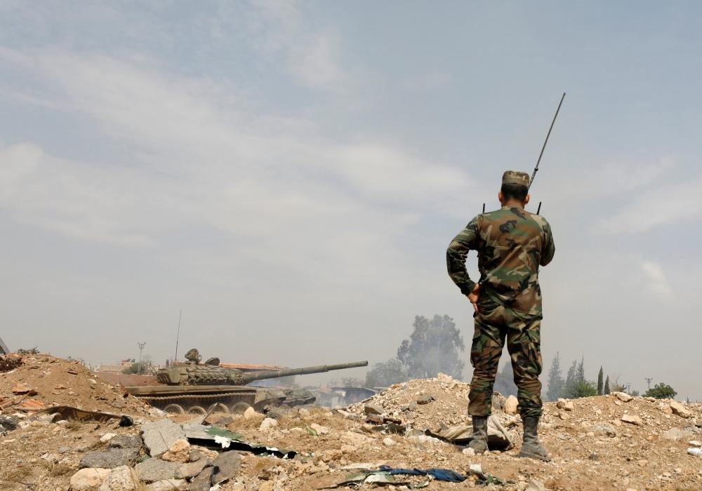 صورة تنظيم الدولة يخلي جنوب دمشق