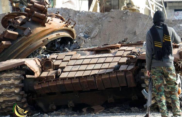 صورة درعا.. خسائر بشرية وعسكرية للنظام