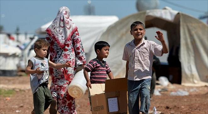صورة 12ألف نازح في درعا خلال 3 أيام