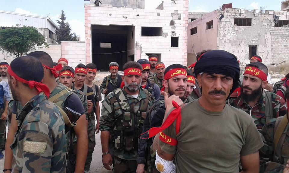 """صورة دير الزور..تنظيم الدولة يأسر عناصر من لواء """"القدس"""""""