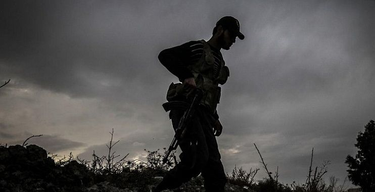 صورة أول عمل عسكري للجبهة الوطنية للتحرير