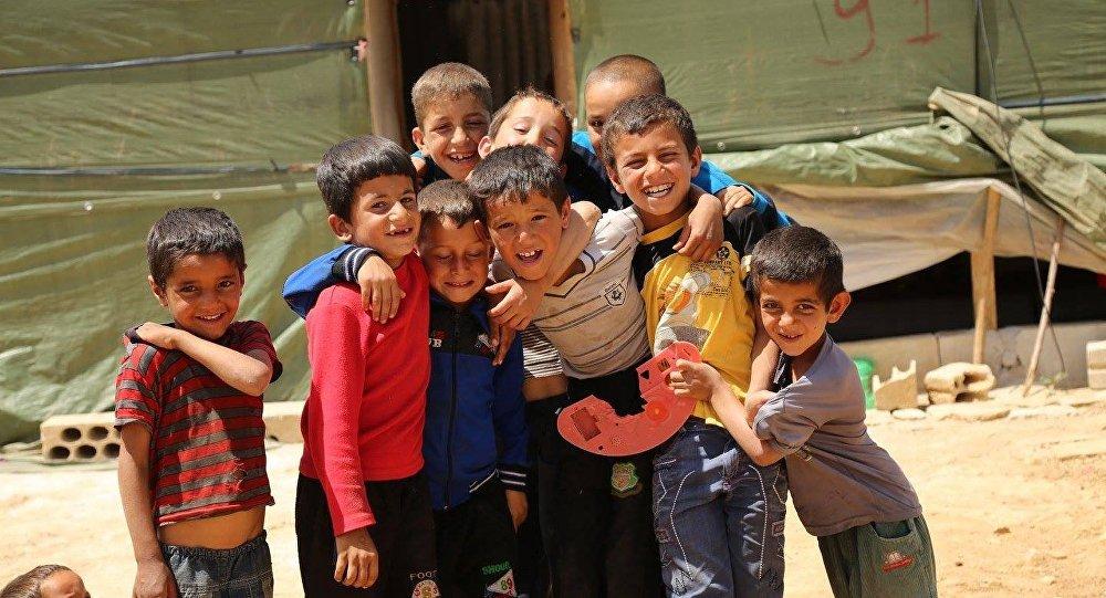 صورة فجوة كبيرة في مساعدة اللاجئين السوريين