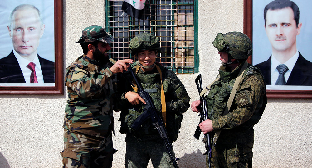 صورة إيران: أمن سوريا من أمننا القومي