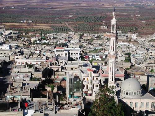 صورة قوات الأسد تقصف الحارّة بدرعا لإجبارها على المصالحة