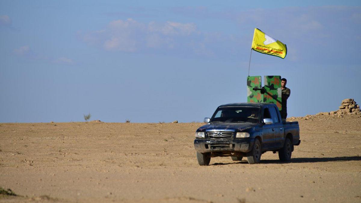 """صورة الحسكة..""""قسد"""" تصل الحدود السورية- العراقية"""