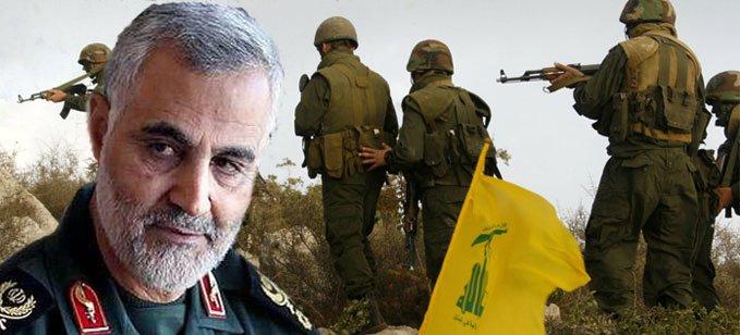 صورة سليماني يتباهى بسيطرة حزب الله على الحكومة اللبنانية