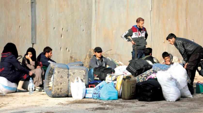 صورة موجة نزوح شمال درعا خوفا من تصعيد عسكري