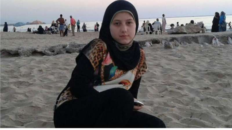 صورة ذبح سيدة سورية على يد عمها في تركيا
