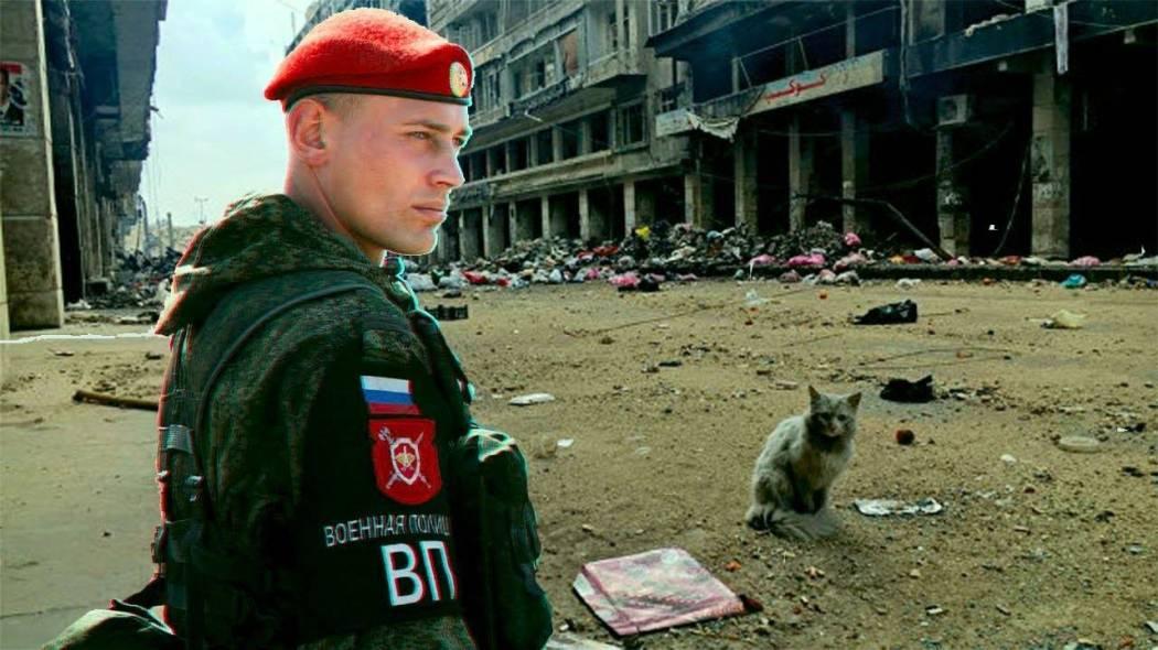 صورة ما احتمالية نشر شرطة روسية جنوب سوريا؟
