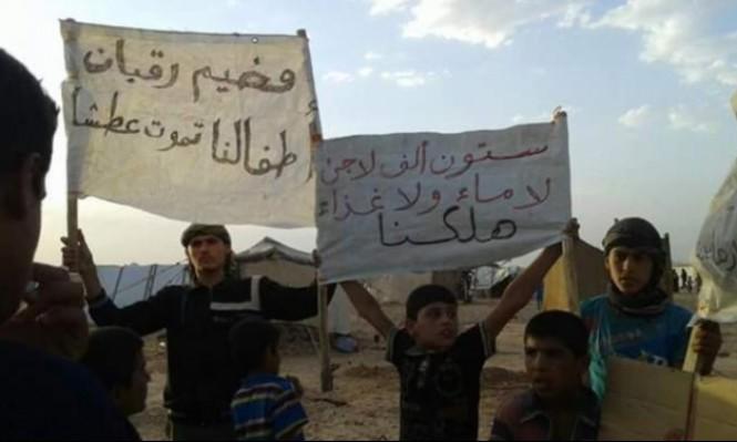 صورة مخيم الركبان..الجوع يهدد عشرات آلاف النازحين