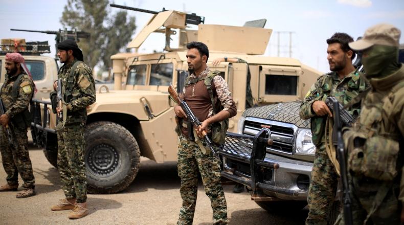 صورة سوريا..أول اشتباك بين ذراعي واشنطن الشيعي والكردي