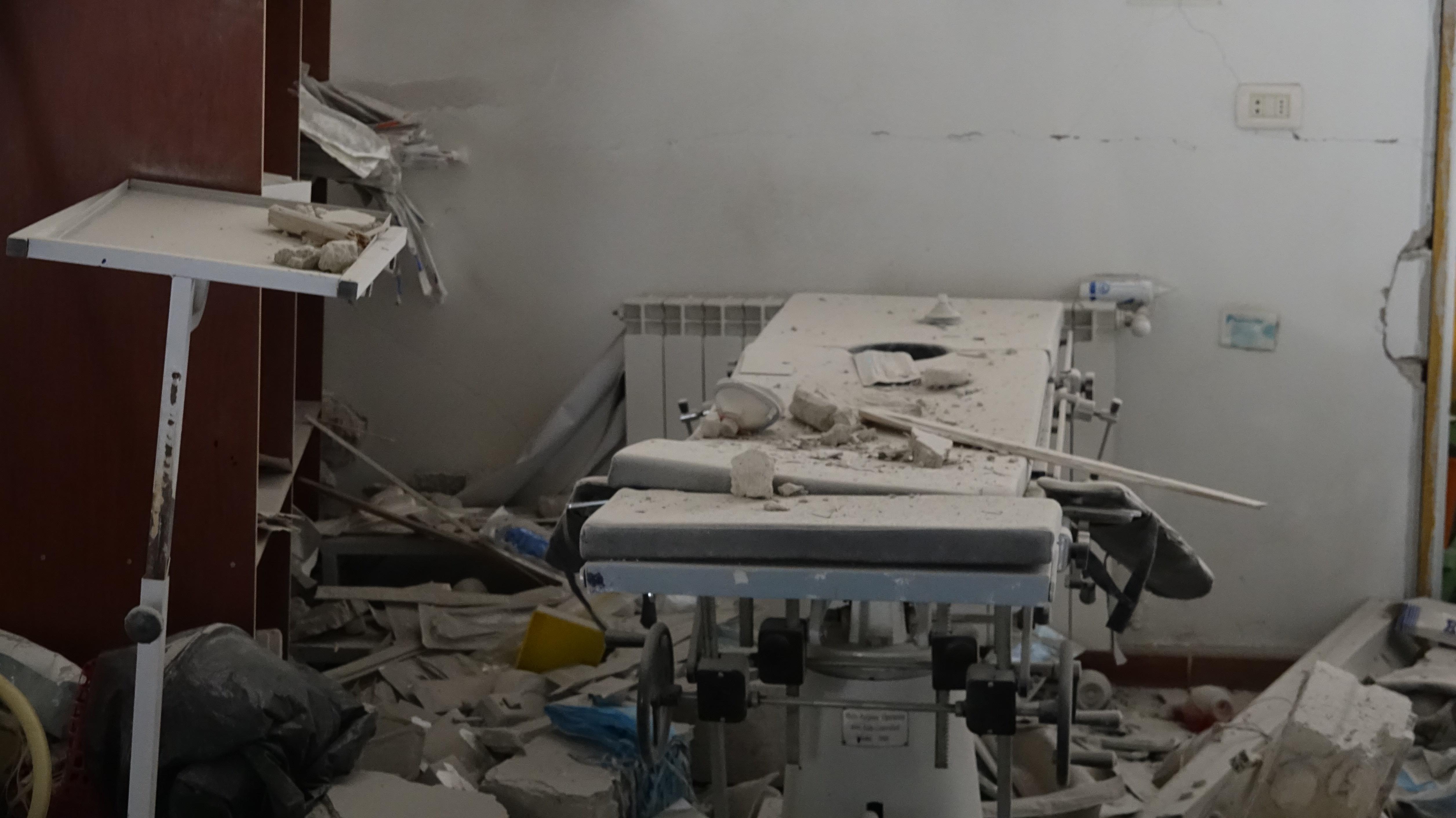 صورة درعا.. مقاتلات روسية تدمر مشفى مركزيا