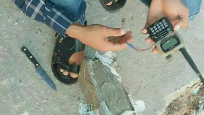 """صورة تحرير سوريا تعدم """"عميلا"""" للنظام في إدلب"""