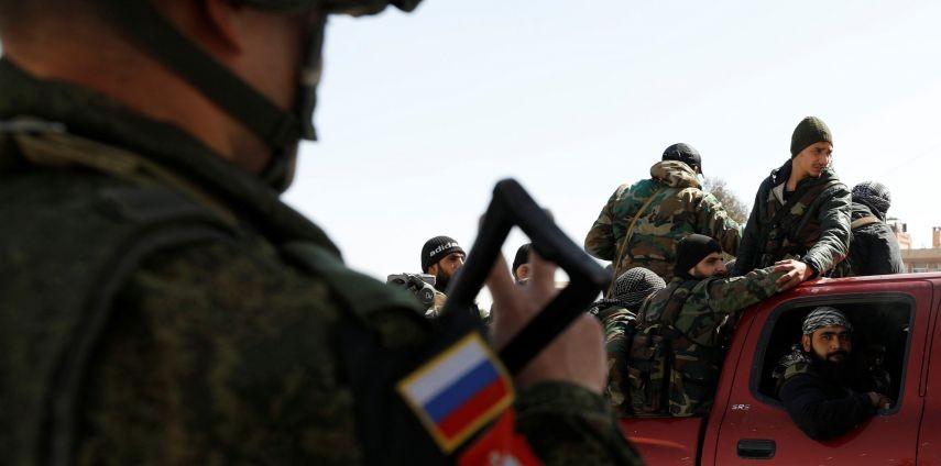 صورة بوتين: قواتنا اكتسبت خبرة فريدة للتدريب بسوريا