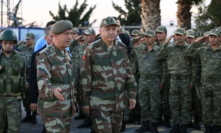 صورة أردوغان: سنواصل مكافحة الإرهاب بسوريا والعراق