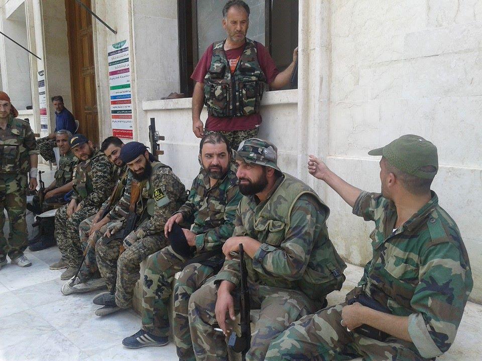 صورة الأسد يفقد السيطرة على ميليشياته بحلب