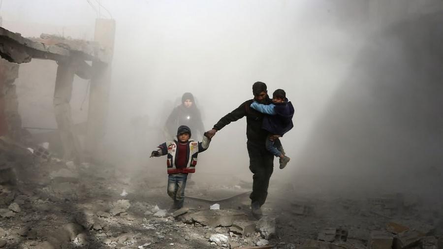 صورة صراع الاستراتيجيات في الثورة السورية