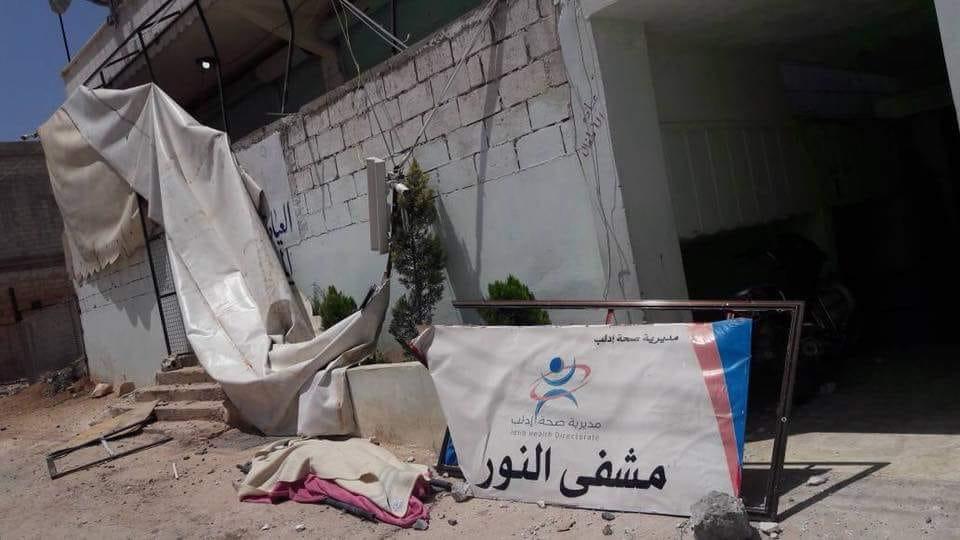 صورة النظام يصعد على إدلب..عشرات القتلى وتدمير مشفى