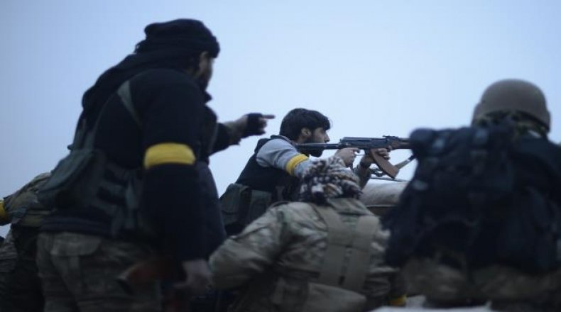"""صورة """"حراس الدين"""" يهاجم مواقع للأسد باللاذقية"""